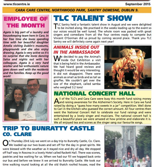 TLC NEWS September 2015