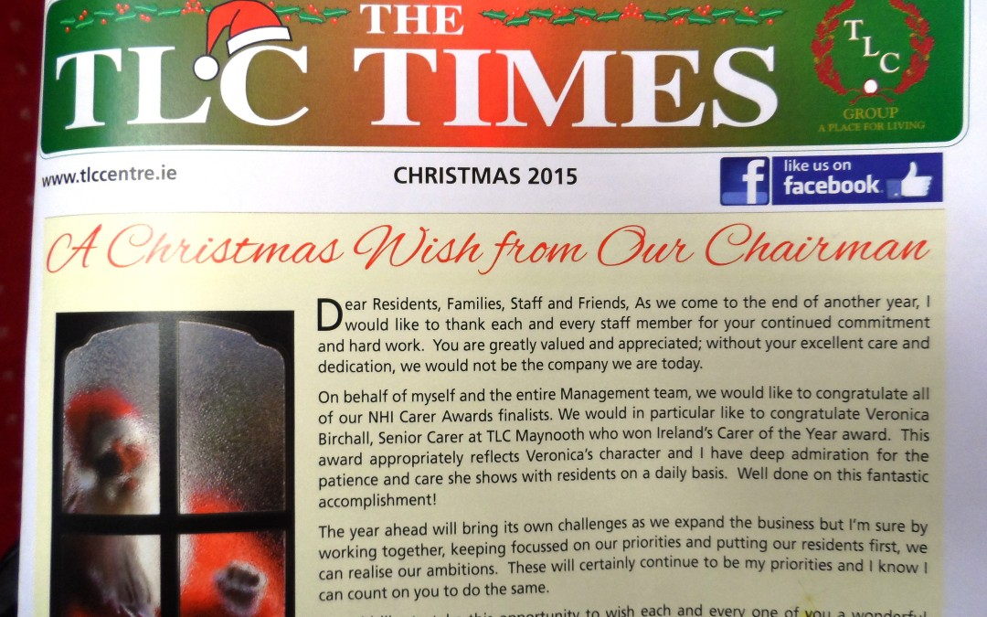 TLC TIMES CHRISTMAS BUMPER ISSUE!