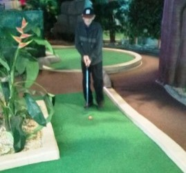 CRAZY GOLF AT DUNDRUM