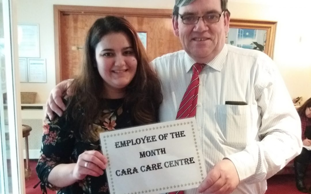 Cara Care February Employee of the Month