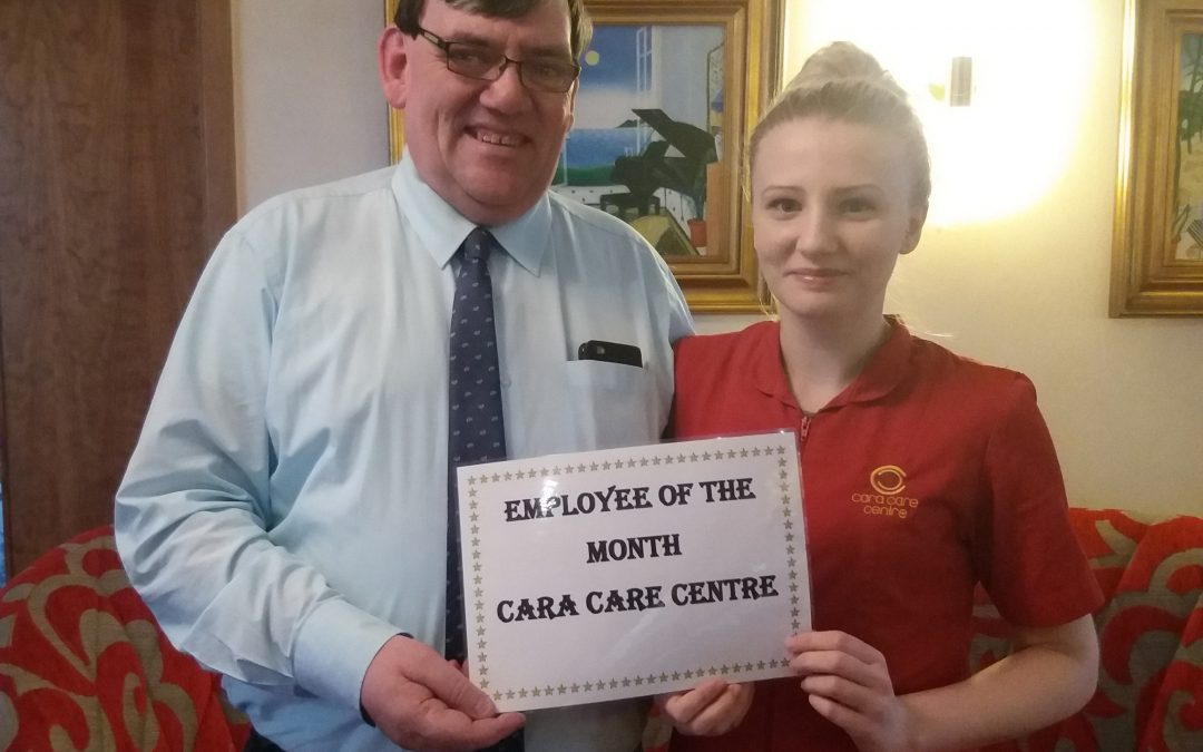 Cara Care March Employee of the Month