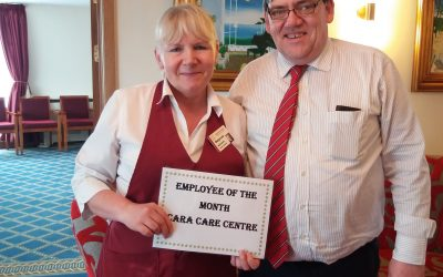 CARE CARE –  April Employee of the Month