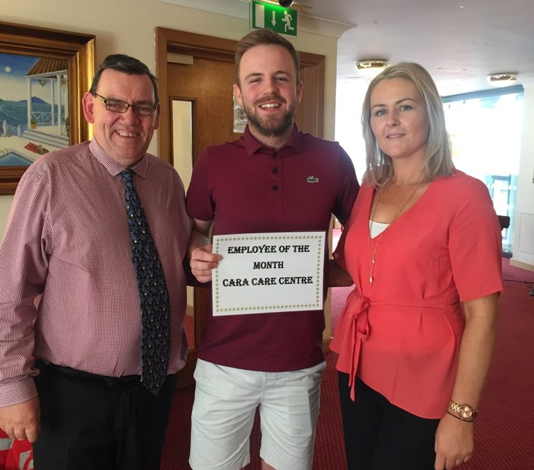 TLC Cara Care July '18 Employee of the Month