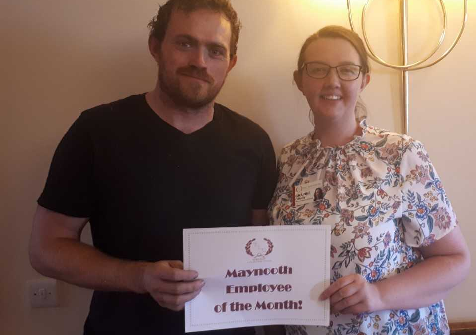 TLC Maynooth July'18 Employee of the Month