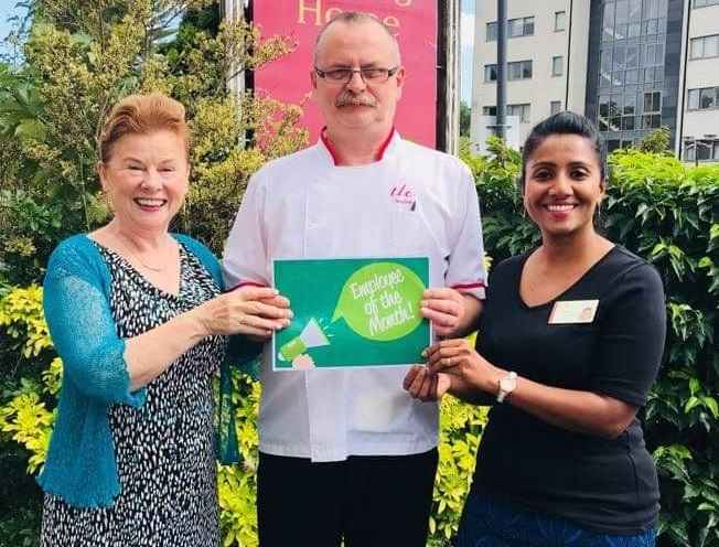 TLC Santry August 2018 Employee of the Month
