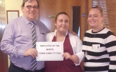 TLC Cara Care February '19 Employee of the Month