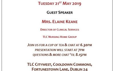 Dementia Cafe – Tuesday 21st May 2019