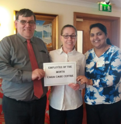 TLC Cara Care May'19 Employee of the Month