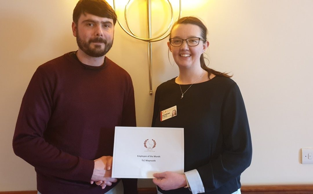 TLC Maynooth April 2019 Employee of the Month