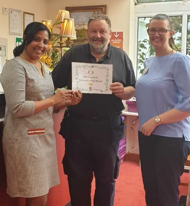 TLC Maynooth June '19 Employee of the Month