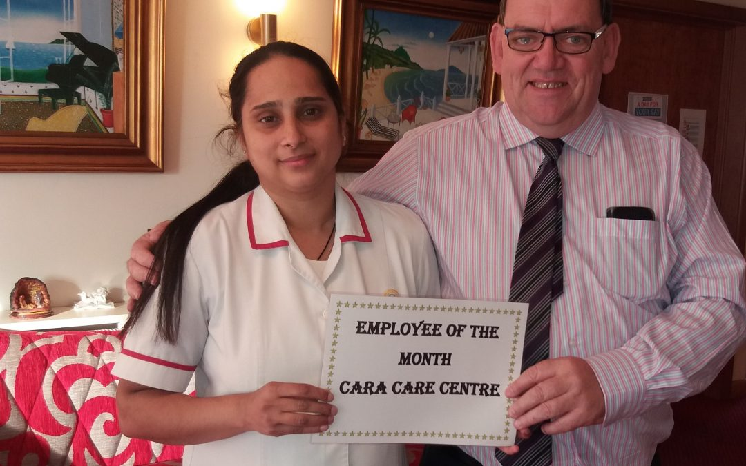 TLC Cara Care Sept'19 Employee of the Month