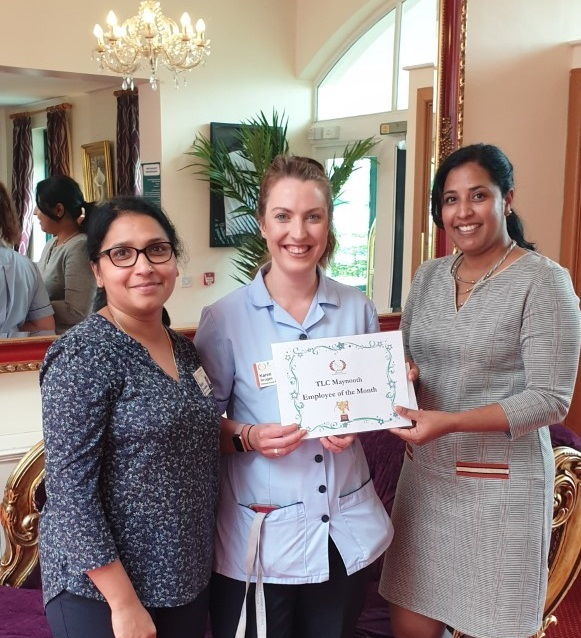 TLC Maynooth August 2019 Employee of the Month
