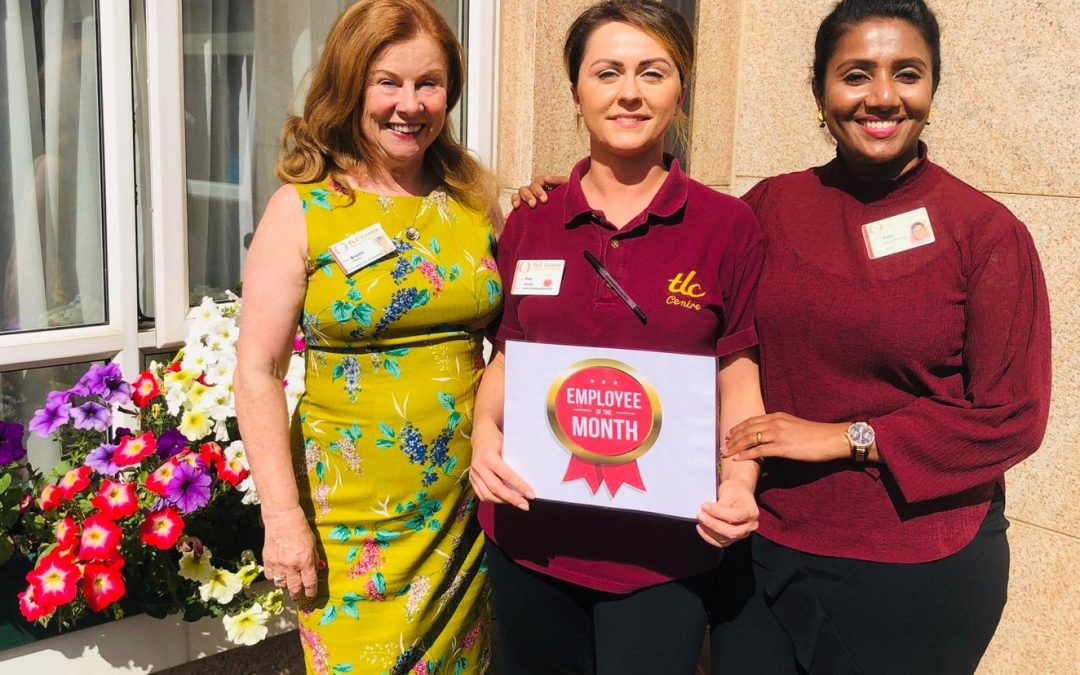 TLC Santry August 2019 Employee of the Month
